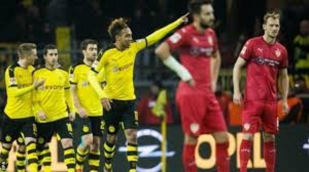 Preview Pertandingan VfB Stuttgart Vs Borussia Dortmund
