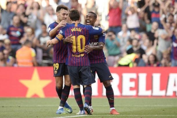 Messi Akan Perkuat Barca Di El Clasico